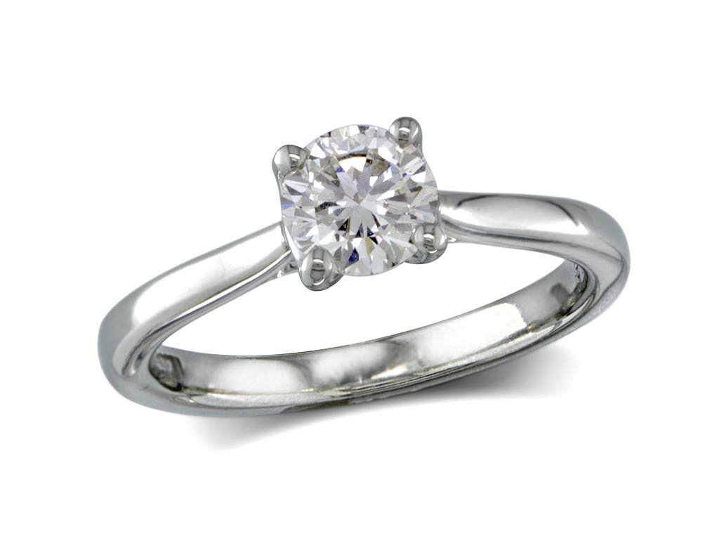 prongs duquet engagement classic chicago solitaire christopher lines top view in rings diamond fine