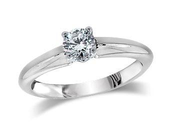 A 0.30ct, Brilliant, G, Single stone diamond ring. You can buy online or reserve online and view in store at Jamieson and Carry, Aberdeen