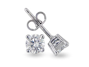 A 1.80ct total, Earrings, Solitaire earrings GPOE103036, Solitaire. You can buy online or reserve online and view in store at Michael Jones Jeweller, Gold Street Northampton