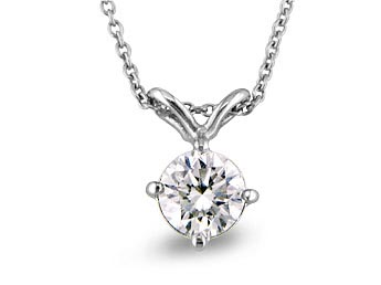 A 0.12ct total, Necklace, Solitaire pendant GPON122775, Solitaire. You can buy online or reserve online and view in store at Michael Jones Jeweller, Grosvenor Northampton