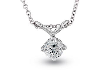 A 0.25ct, Necklace, Solitaires  Pendant04, Solitaire. You can buy online or reserve online and view in store at Jamieson and Carry, Aberdeen