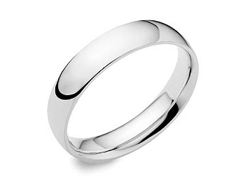 Click here to view this wedding ring - ID#WEDD12A35PLAT - in stock at Gold Street Northampton today