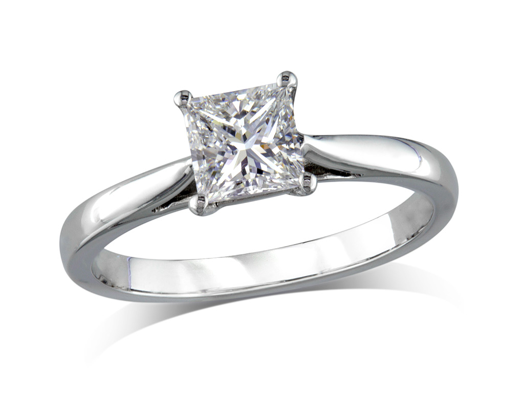 single from ring engagement cut rings diamond stone old image