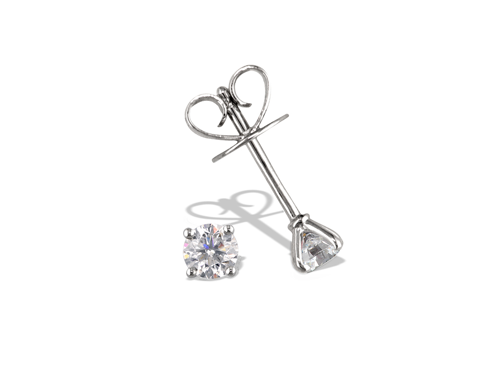 A 0.49ct, Earrings, Solitaire ...GP00451, Solitaire. You can buy online or reserve online and view in store at Michael Jones Jeweller, Gold Street Northampton