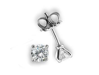 A 0.49ct, Earrings, Solitaire ...GP00072, Solitaire. You can buy online or reserve online and view in store at Michael Jones Jeweller, Gold Street Northampton