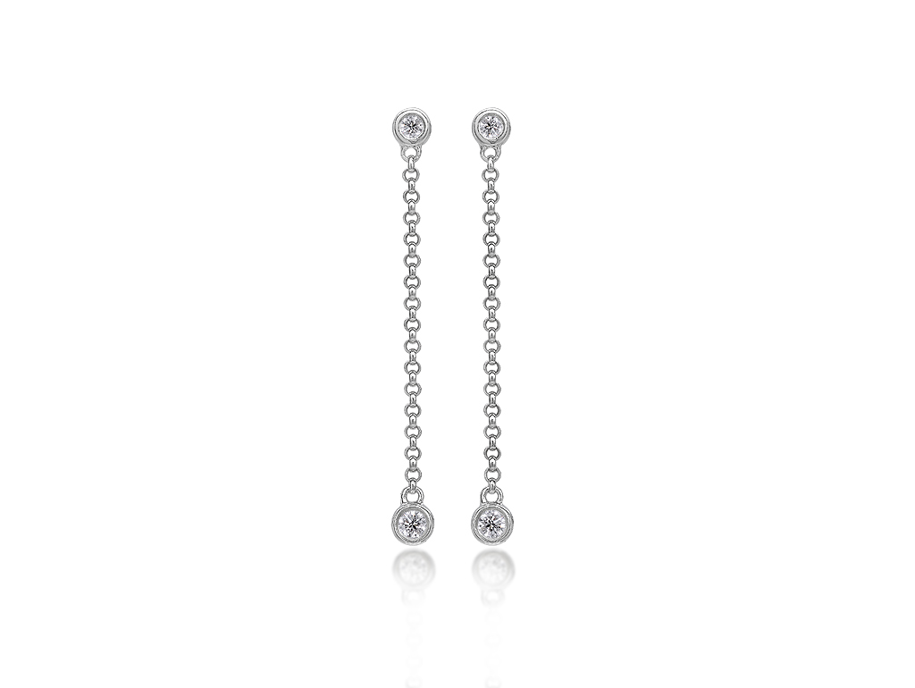 A 0.16ct, Earrings, Love Diamonds Earrings01, Love Diamond. You can buy online or reserve online and view in store at Thurlow Champness, Bury St Edmunds