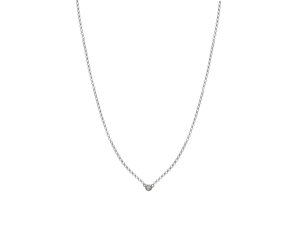 A 0.05ct, Necklace, Love Diamonds Necklace GPOJ103848, Love Diamond. You can buy online or reserve online and view in store at Michael Jones Jeweller, Gold Street Northampton