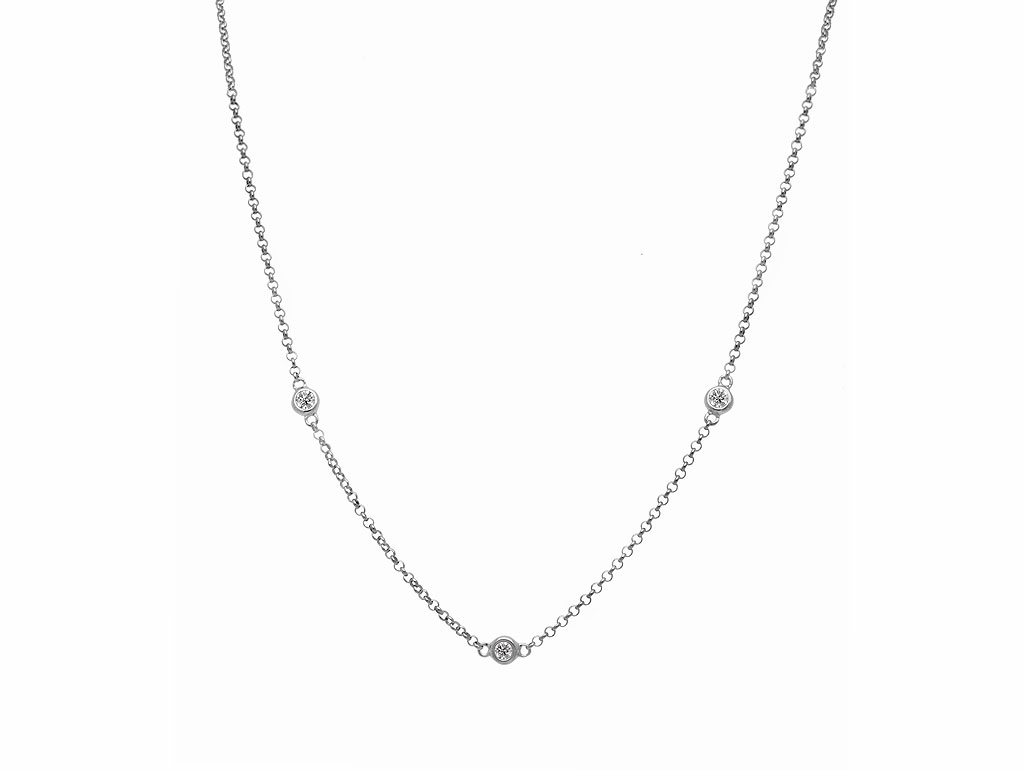 A 0.26ct, Necklace, Love Diamonds Necklace03, Love Diamond. You can buy online or reserve online and view in store at Thurlow Champness, Bury St Edmunds